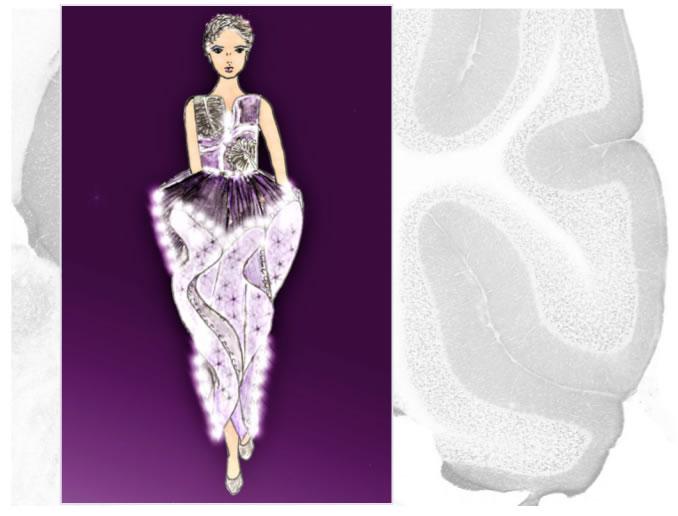 Light Dance Fashion Sketch